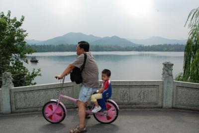 En bici por Hangzhou (y II)