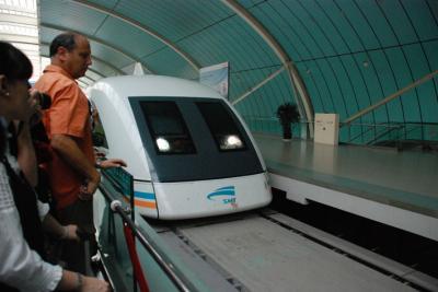 Maglev: el único tren flotante del mundo